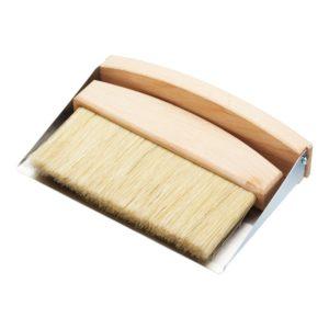 Utensílios de limpeza; Conjunto de Pá e Escova de Mesa