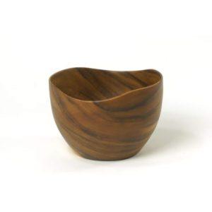 Taça de madeira