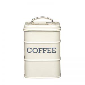 Utensílios de cozinha; Lata para café